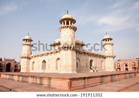 Itmad Ud Daulah also known as baby taj mahal in india - rajasthan - agra
