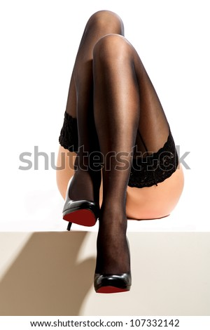 Its greatest legs - stock photo