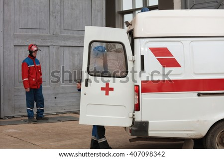 Open Red Metal Medicine Cabinet Full Stock Photo 407440897