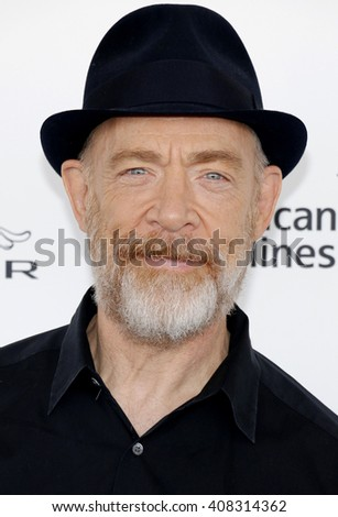 J.K. Simmons at the 2016 Film Independent Spirit Awards held at the Santa Monica Beach in Santa Monica, USA on February 27, 2016.