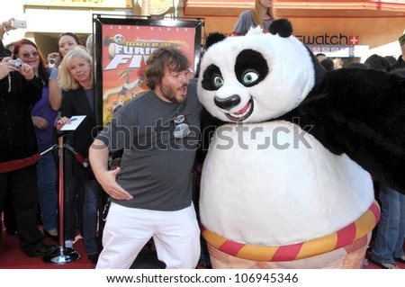 Jack Black  at the DVD and Blu-Ray Debut of 'Kung Fu Panda'. Grauman's Chinese Theater, Hollywood, CA. 11-09-08