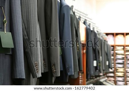 Jackets. Shallow DOF - stock photo