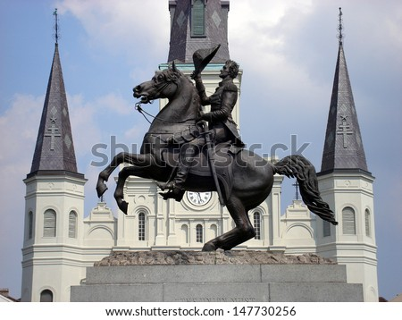 Jackson Square - stock photo