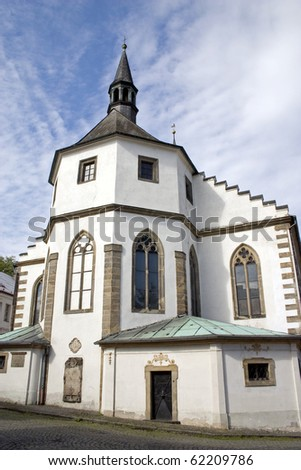 Jacob the Elder, The Church of the Czech Kamenice. The most valuable cultural monument in the city