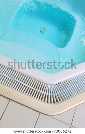 Jacuzzi in a thalassotherapy center