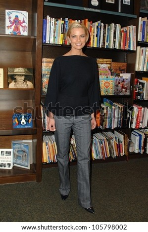 Jaime Pressly  at an in store appearance signing copies of her book 'Not Necessarily The Truth'. Barnes and Noble, Encino, CA. 03-25-09