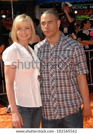 Jaime Pressly, Eric Cubiche at Los Angeles Premiere of HORTON HEARS A WHO!, Mann Village Theatre in Westwood, Los Angeles, CA, March 08, 2008