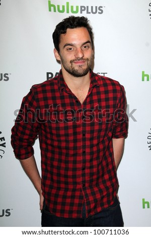 "Jake Johnson at ""New Girl"" at PaleyFest 2012, Saban Theatre, Beverly Hills, CA 03-05-12"