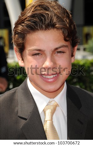 Jake T. Austin at the 61st Annual Primetime Creative Arts Emmy Awards. Nokia Theatre, Los Angeles, CA. 09-12-09