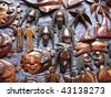 Jamaican Handicrafts - stock photo