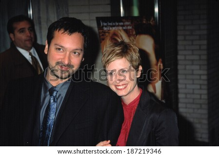 James Mangold, director, and Cathy Konrad, producer, at premiere of KATE & LEOPOLD, NY 12/16/2001