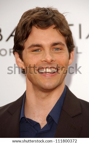 "James Marsden at the Los Angeles premiere of ""Hairspray"". The Mann Village Theatre, Westwood, CA. 07-10-07"