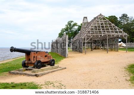 Jamestown National Historic Site - stock photo