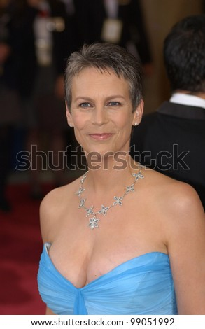 JAMIE LEE CURTIS at the 76th Annual Academy Awards in Hollywood. February 29, 2004