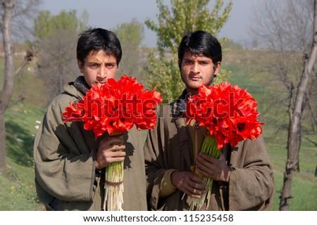 Jammu Kashmir India April 15 Two Stock Photo 115235458 ...