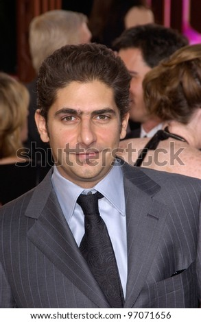 Jan 16, 2005; Beverly Hills, CA: Actor MICHAEL IMPERIOLI at the 62nd Annual Golden Globe Awards at the Beverly Hilton Hotel.