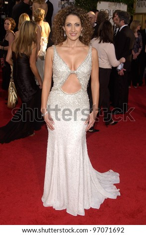 Jan 16, 2005; Beverly Hills, CA: MELINA KANAKARIDES at the 62nd Annual Golden Globe Awards at the Beverly Hilton Hotel.