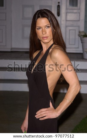 Jan 23, 2005; Los Angeles, CA: Actress RHONA MITRA at ABC TV's All Star Party on the Desperate Housewive lot at Universal Studios, Hollywood. - stock photo