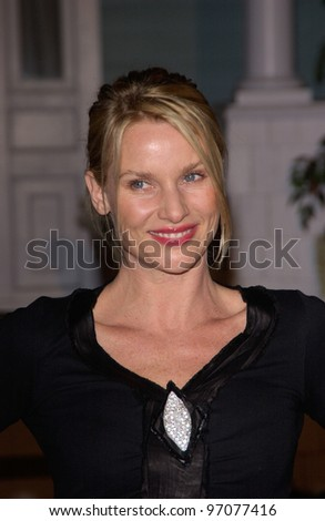 Jan 23, 2005; Los Angeles, CA: Desperate Housewives star NICOLLETTE SHERIDAN at ABC TV's All Star Party on the Desperate Housewive lot at Universal Studios, Hollywood. - stock photo