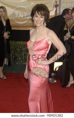 JANE KACZMAREK at the 10th Annual Screen Actors Guild Awards in Los Angeles. February 22, 2004