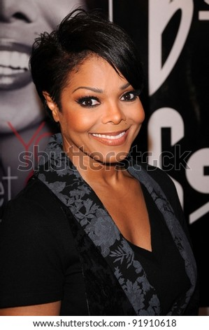 "Janet Jackson at a signing for ""True You: A Journey to Finding and Loving Yourself,"" Book Soup, West Hollywood, CA. 04-15-11 - stock photo"