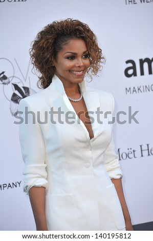 Janet Jackson at amfAR's 20th Cinema Against AIDS Gala at the Hotel du Cap d'Antibes, France May 23, 2013  Antibes, France - stock photo
