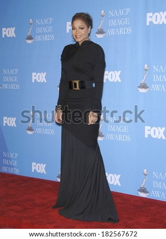Janet Jackson at NAACP 39th Annual Image Awards, The Shrine Auditorium, Los Angeles, CA, February 14, 2008