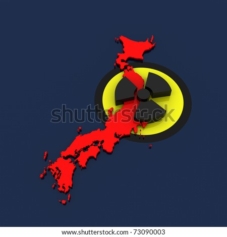 japan - nuclear disaster v.01 - stock photo