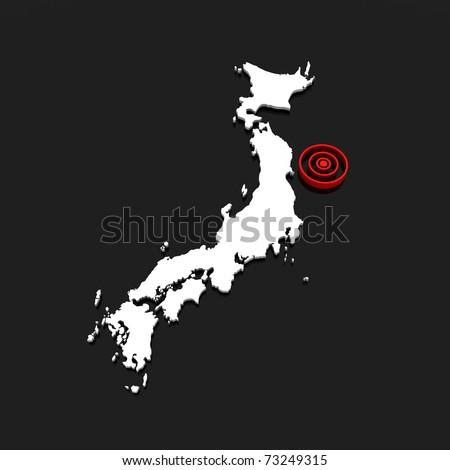 japan - tsunami 2011 v.03 - stock photo