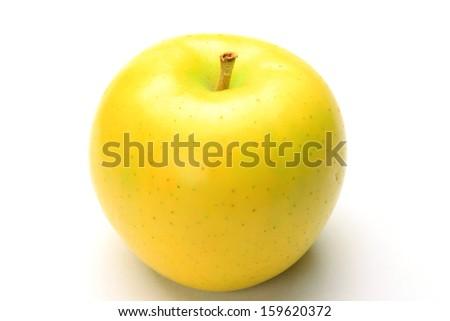 Japanese apple - stock photo