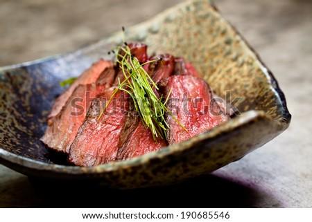 Japanese Beef - stock photo