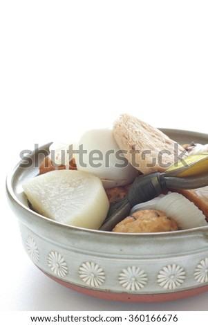 Japanese food, Homemade Oden