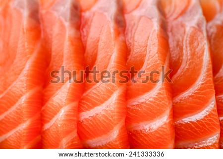 japanese food sushi salmon fish - stock photo