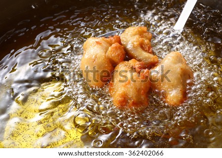 Japanese fried Chicken - stock photo