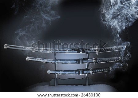 japanese Katana - stock photo