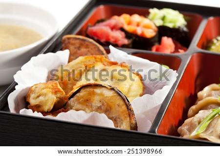 Japanese Lunchbox - stock photo