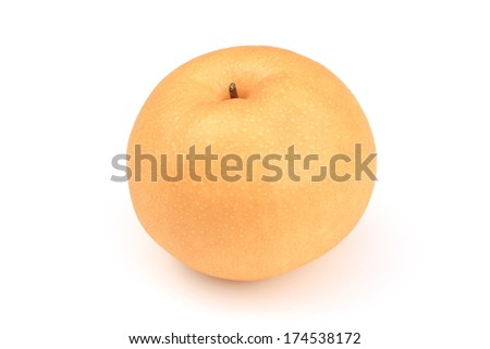 Japanese pear - stock photo