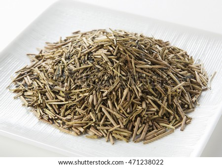 Japanese roasted green tea
