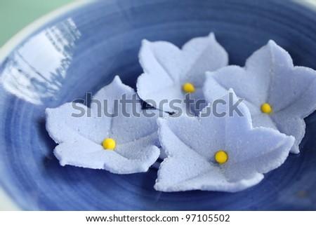 Japanese sugar sweets - stock photo