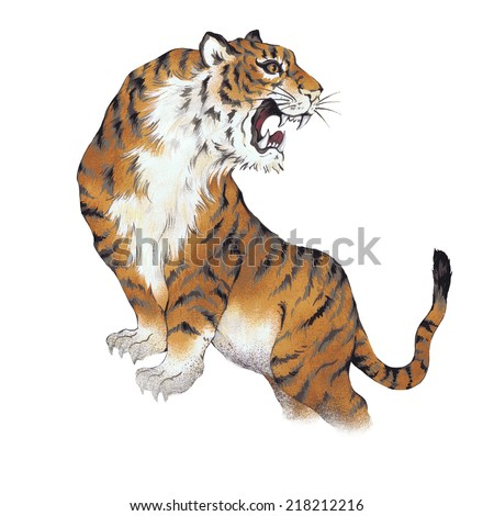 Image Result For Tattoos Of Chinese Dragon And Tigera