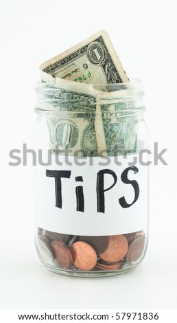 Jar for Tips