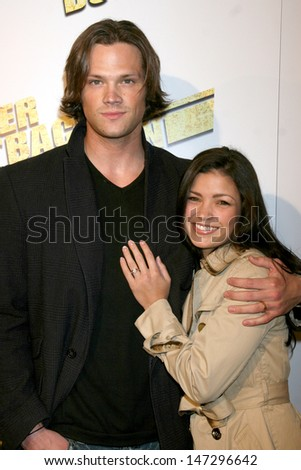 "Jared Padalecki & Fiance Sandra McCoy ""Never Back Down"" Premiere ArcLight Theaters Los Angeles, CA March 4, 2008"