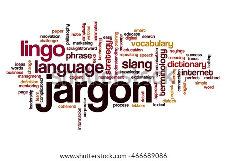 Jargon for blogging