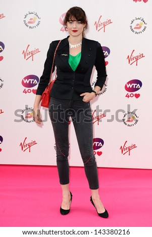Jasmine Guinness arriving for the WTA Pre-Wimbledon Party 2013 at the Kensington Roof Gardens, London. 20/06/2013 - stock photo