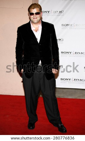 Jason Davis at the 2008 Sony/BMG Grammy After Party held at the Beverly Hills Hotel in Beverly Hills on February 10, 2008.  - stock photo