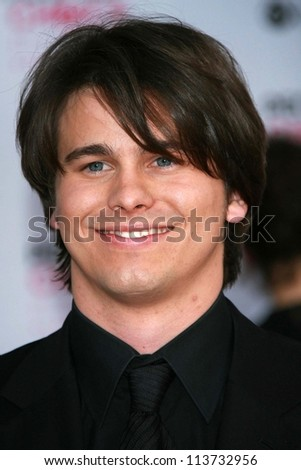 Jason Ritter arriving at The 33rd Annual People's Choice Awards. Shrine Auditorium, Los Angeles, CA. 01-09-07
