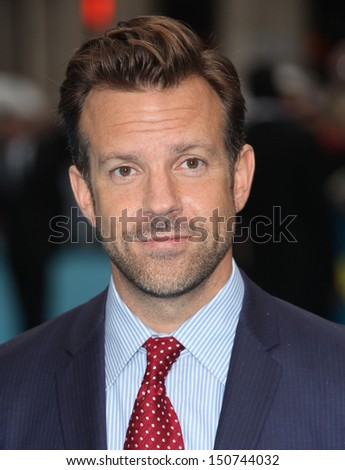 Jason Sudeikis arriving for the 'We're The Millers' European Premiere, Odeon West End, London. 14/08/2013