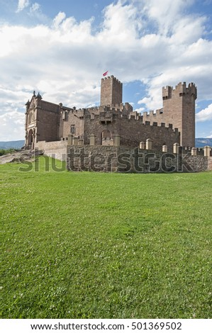 Javier Castle in Navarra.Spain