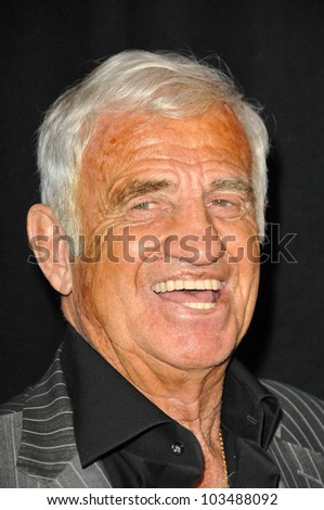 Jean-Paul Belmondo  at the 35th Annual Los Angeles Film Critics Association Awards, InterContinental Los Angeles, Century City, CA. 01-16-10