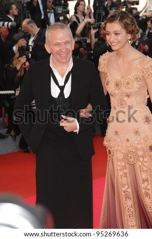 "Jean-Paul Gaultier at world premiere for ""Ocean's Thirteen"" at the 60th Annual International Film Festival de Cannes. May 24, 2007  Cannes, France.  2007 Paul Smith / Featureflash"